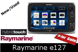 Raymarine e127 For Sale