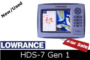Lowrance HDS-7 Gen1 for sale