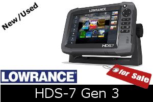 Lowrance HDS-7 Gen3 for sale