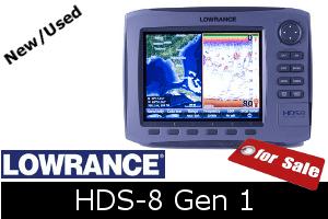 Lowrance HDS-8 Gen1 for sale