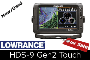Lowrance HDS-9 Gen2 Touch for sale