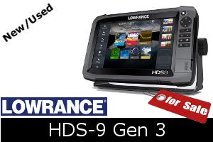 Lowrance HDS-9 Gen3 for sale