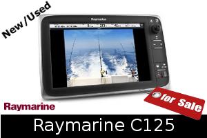 Raymarine C125 For Sale