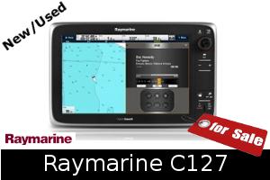 Raymarine C127 For Sale