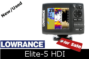Lowrance Elite-5 HDI For Sale