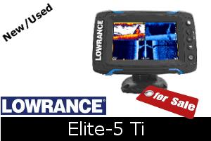 Lowrance Elite-5 Ti For Sale