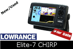 Lowrance Elite-7 CHIRP For Sale