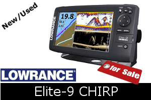 Lowrance Elite-9 CHIRP For Sale