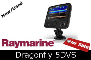 Raymarine Dragonfly 5DVS For Sale