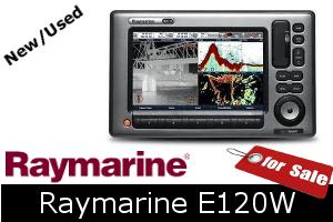 Raymarine E120W For Sale