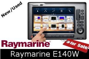 Raymarine E140W For Sale