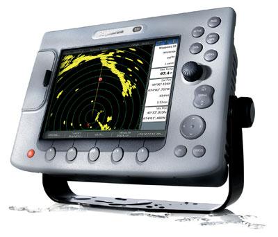 Raymarine E80 radar