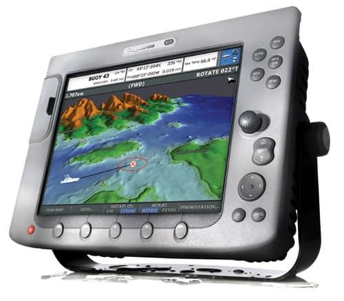 Raymarine E120 Chartplotter Sounder Fullpage
