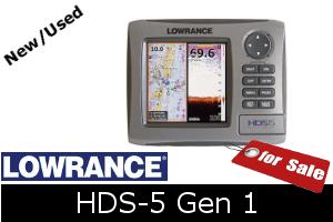 Lowrance HDS-5 Gen1 for sale