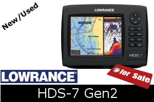 Lowrance HDS-7 Gen2 for sale