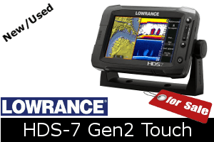 Lowrance HDS-7 Gen2 Touch For Sale - New & Used