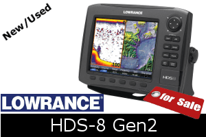 Lowrance HDS-8 Gen2 for sale