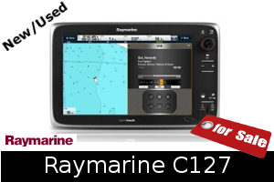 Raymarine C127 For Sale
