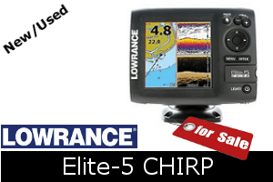 Lowrance Elite-5 CHIRP For Sale