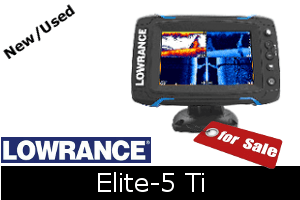 Lowrance Elite-5 Ti For Sale