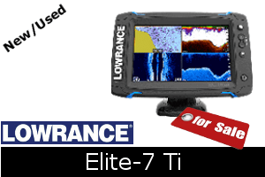 Lowrance Elite-7 Ti For Sale