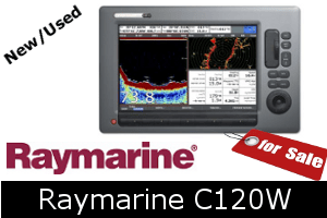 Raymarine C120W For Sale