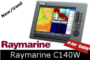 Raymarine C140W For Sale