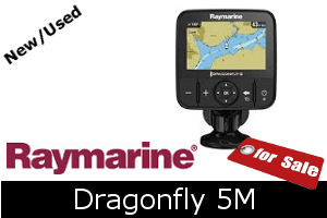 Raymarine Dragonfly 5M For Sale