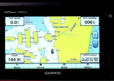 garmin review 741xs Charting