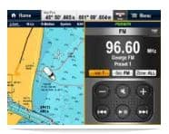 Raymarine A67 Fusion Screen