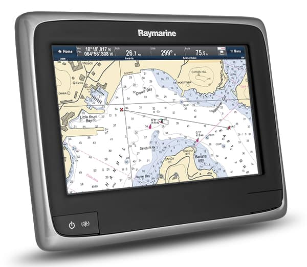 Raymarine a67 Review Chart