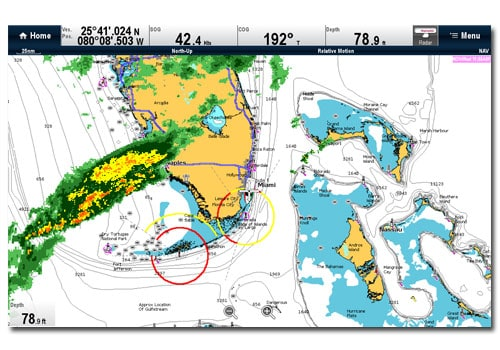 Raymarine a67 Weather XM