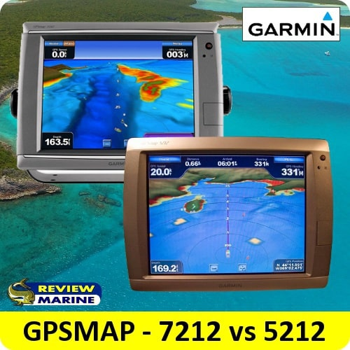 Garmin GPSMAP - 7212 vs 5212