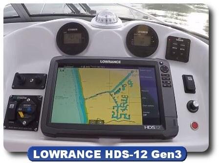 Lowrance HDS-12 Gen 3