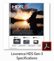 Lowrance HDS 3 Brochure