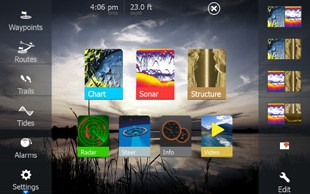 Lowrance HDS-7 Gen3 Touch Screen
