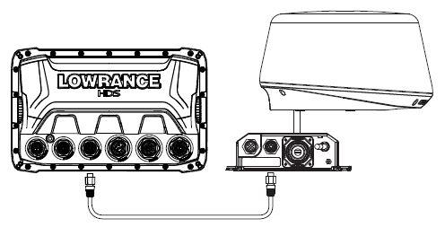 Lowrance HDS-7 Gen3 - Single Device Connection