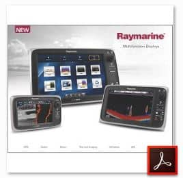 Raymarine e125 - Features | Specs | Comparisons | User Videos