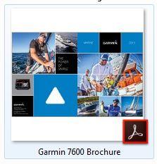 Garmin 7607xsv Brochure