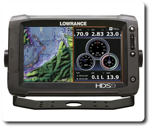 Lowrance - HDS-9 Gen2 Touch - Navigation