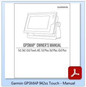 Garmin GPSMAP Touch 942xs - Manual