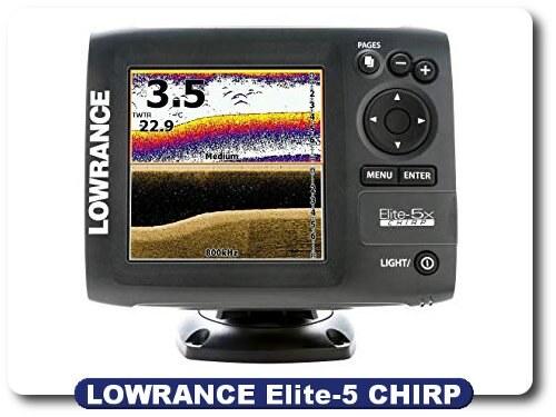 Lowrance Elite-5 CHIRP