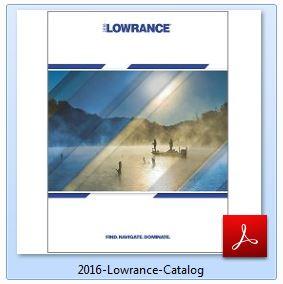Lowrance Hook-9 Catalog