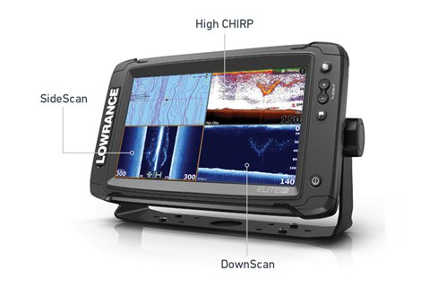 Lowrance Elite-12 Ti Downscan | CHIRP | SideScan