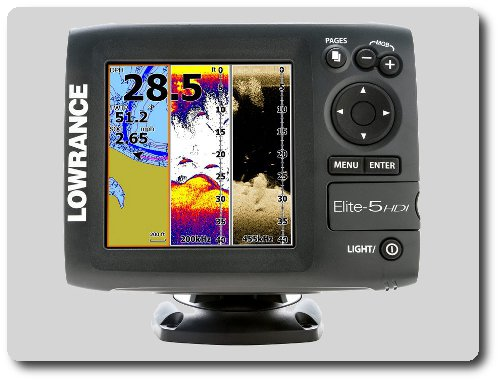 Lowrance Elite-5 HDI features