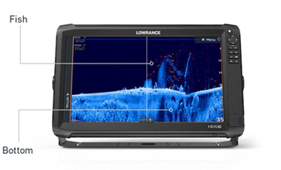 Lowrance HDS-9 Carbon - FishReveal™ Smart Target View