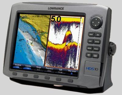Lowrance HDS-10 Charting ~ Broadband