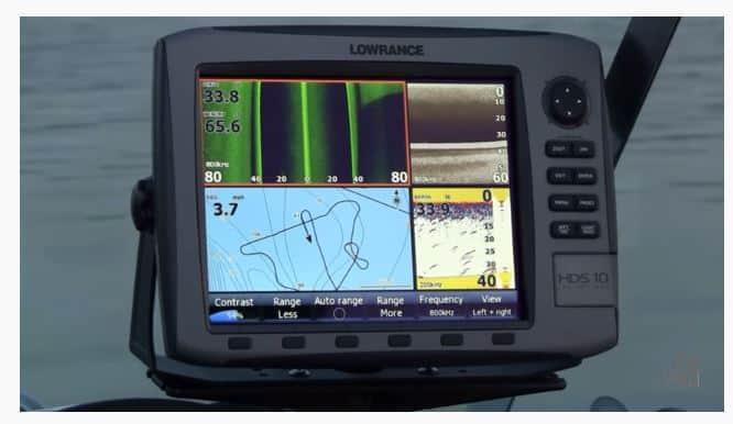 Lowrance HDS-10 Gen1 - Features