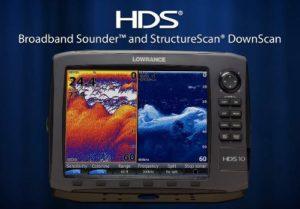 Lowrance HDS-10 Gen2 - Broadband Sonar - StructureScan