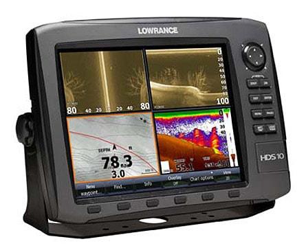 Lowrance HDS-10 Gen2 - Split Screen